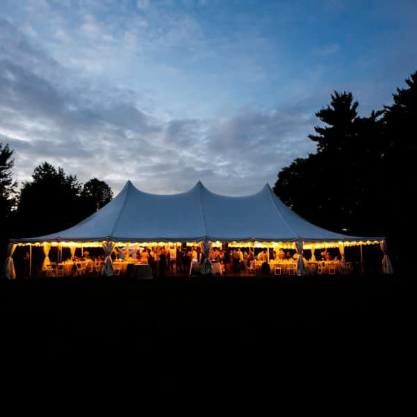 Moraine Farm estate wedding outdoor ceremony and reception photos in Beverly, MA