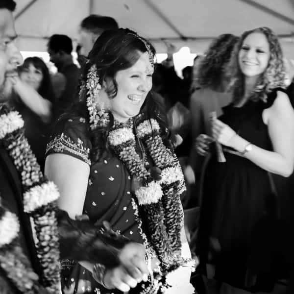 Indian outdoor wedding photos at Brookside Country Club