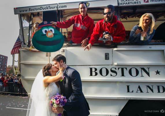 Wyndham Beacon Hill hotel wedding photos in Boston, MA