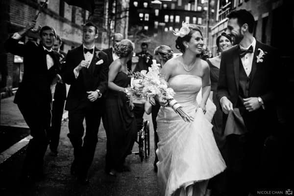 Quirky and colorful dinosaur-themed Boston Museum of Science wedding in Boston, MA