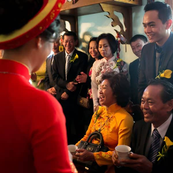 China Pearl Quincy reception banquet photos for traditional Vietnamese wedding