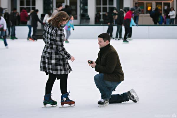Boston Commons proposal on Frog Pond in Boston Commons – Brittany + TJ