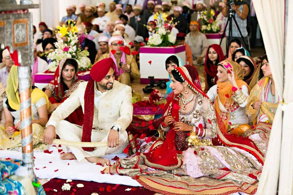 Colorful and outdoor Belle Mer Indian wedding in Newport, Rhode Island