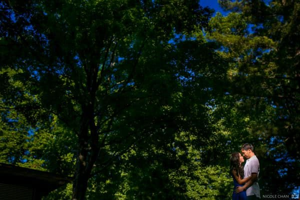Larz Anderson Park engagement session in Brookline, MA
