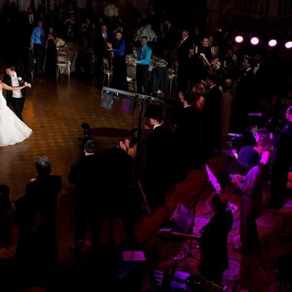 Boston Fairmont Copley wedding photos for Katie and Jamie's elegant and winter wedding day