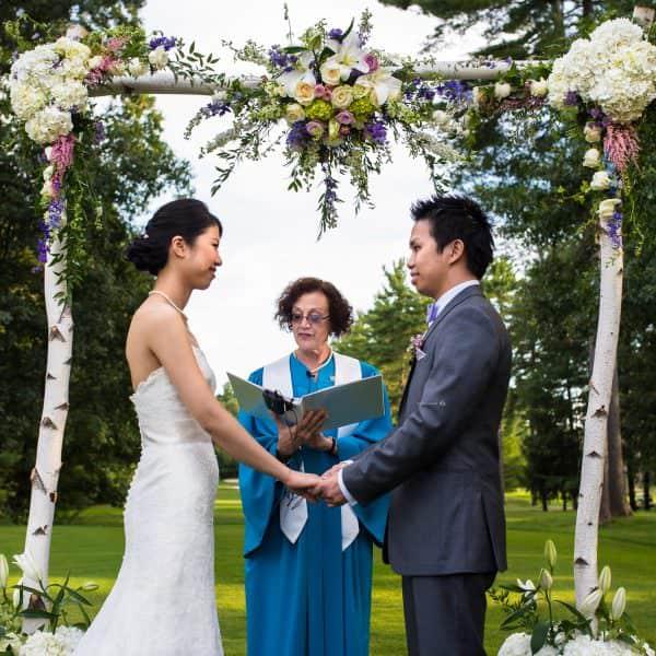 Butternut Farm Country Club wedding photographer in Stow, MA