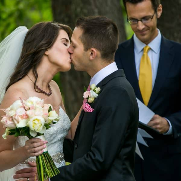 Romantic and pink-themed Endicott Estate wedding photos in Dedham, MA