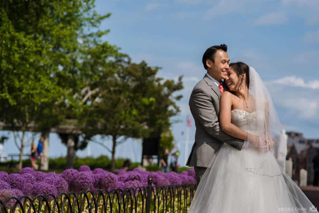 Danversport Yacht Club wedding – Phuong + David