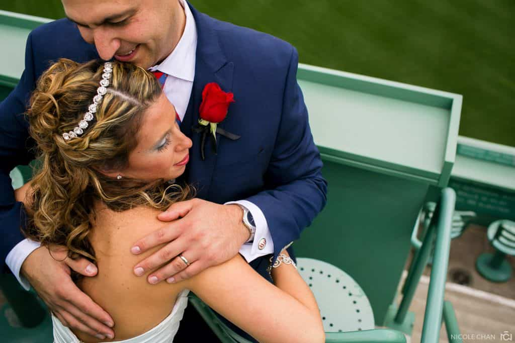 Boston Fenway Park and Red Sox wedding – Ashley + Steve