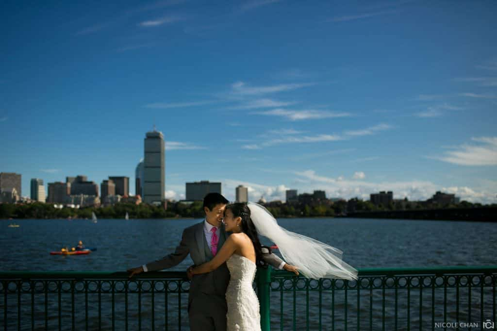 MIT Chapel and Boston Museum of Science wedding – Mary + Albert