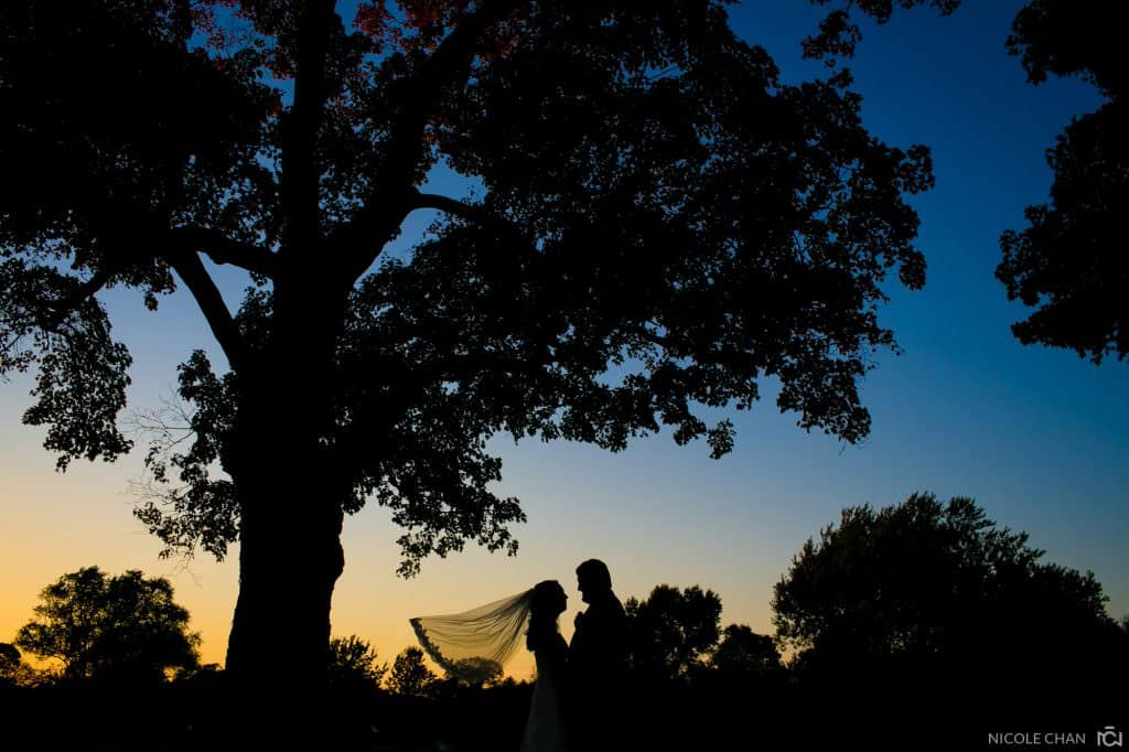 Fall Easton country club wedding – Candy + Derek