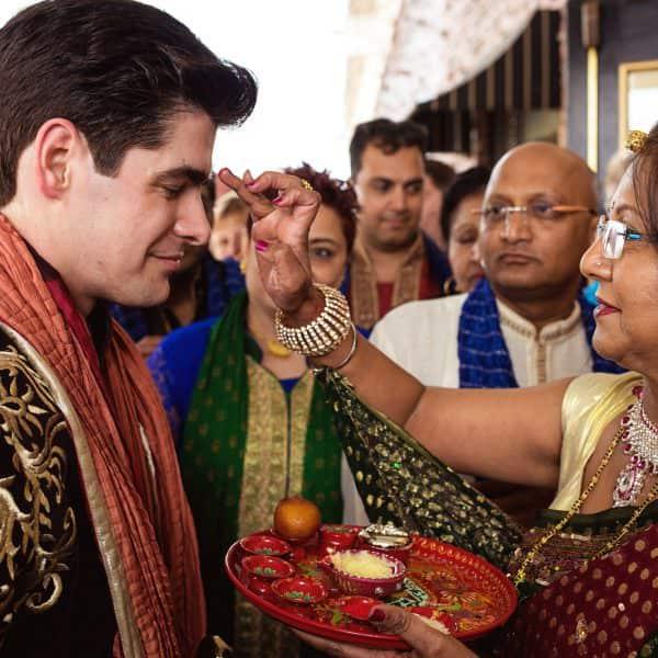Danversport Yacht Club Indian fusion wedding photos