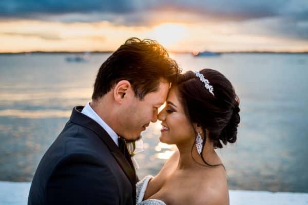 Belle Mer wedding in Newport, RI