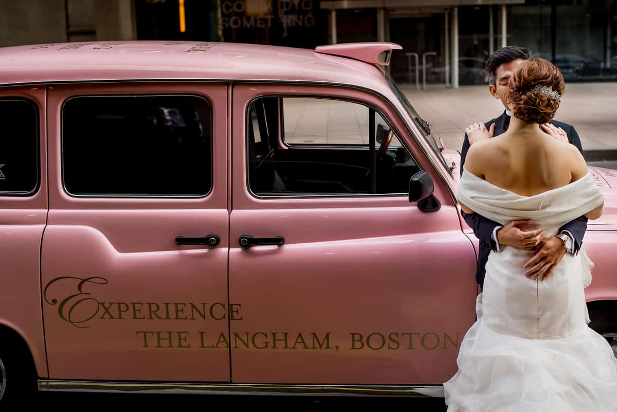 boston langham hotel wedding photos