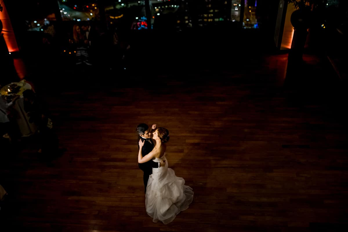 boston state room wedding photos