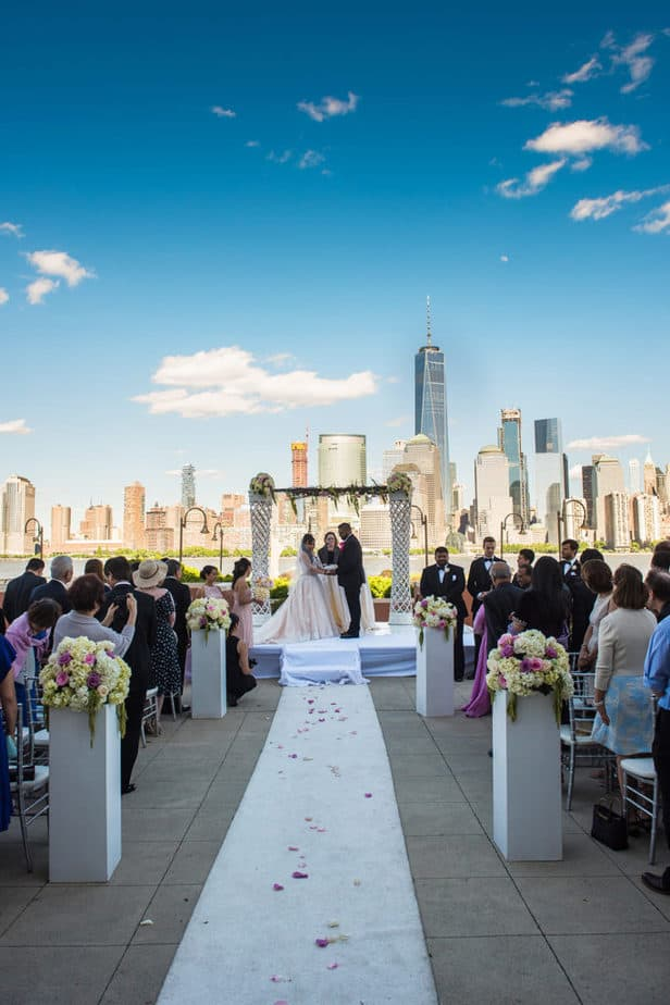 Indian Hyatt Regency Jersey City on the Hudson wedding