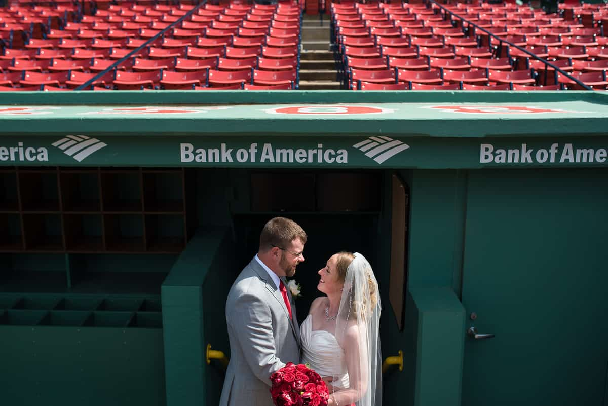 Fenway Park EMC wedding by Boston Wedding Photographer Nicole Chan