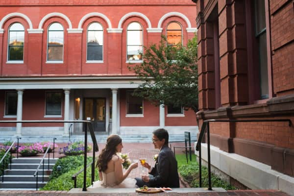 Charming Cambridge Multicultural Arts Center Wedding