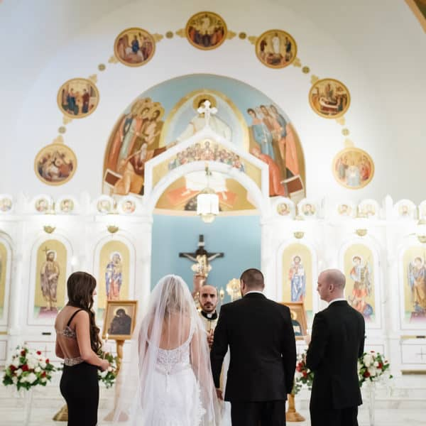 Katya and George's Wedding at Saint George Orthodox Cathedral in Worcester by Nicole Chan Photography