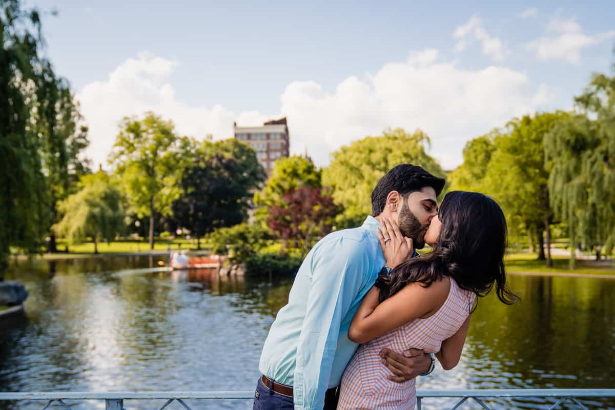 Boston Public Garden Proposal Photography Boston Common Proposal Photography Nicole Chan Photography