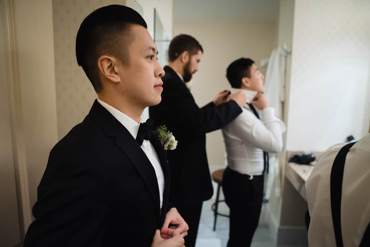 Justin and Chris - Providence Public Library wedding - Providence Wedding Photographer - Nicole Chan Photography
