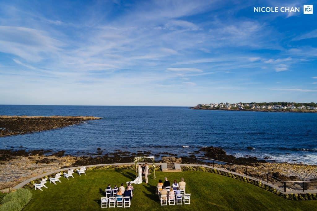 Maine wedding photographer by Nicole Chan Photography