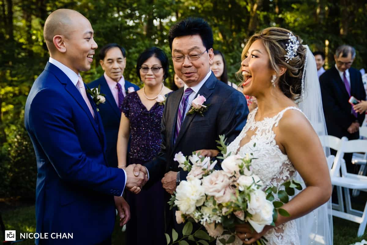 Lakeview Pavilion wedding in Foxboro, MA by Boston Wedding Photographer Nicole Chan