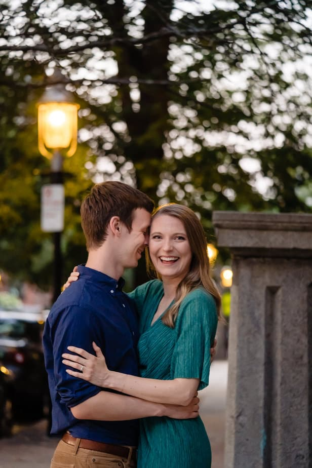 Bunker Hill Boston Proposal Photography - Nicole Chan Photography
