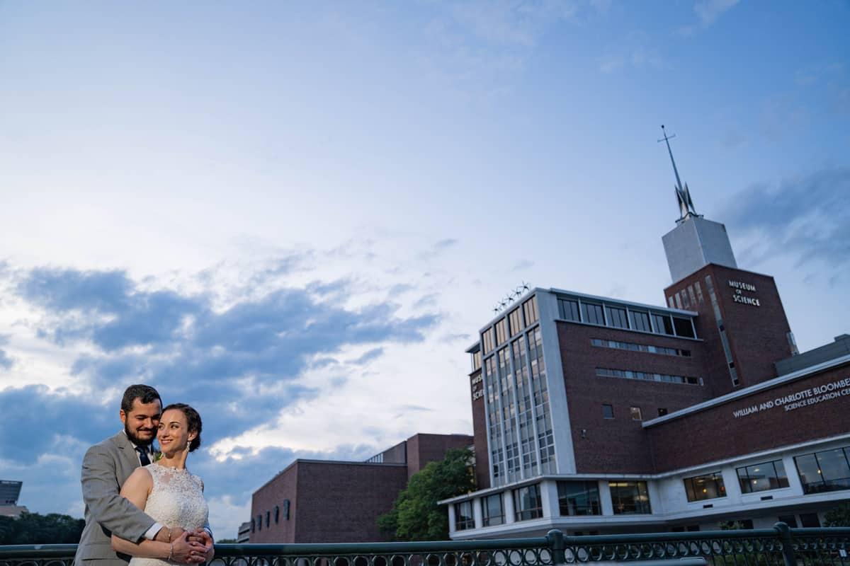 Museum of Science Wedding - Deb and Blake-18