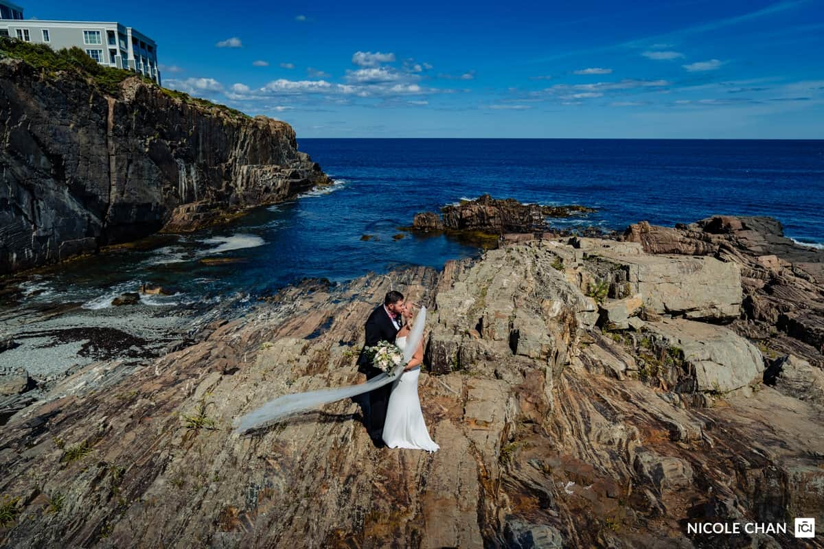 Cliff House Maine Wedding Photographer Nicole Chan